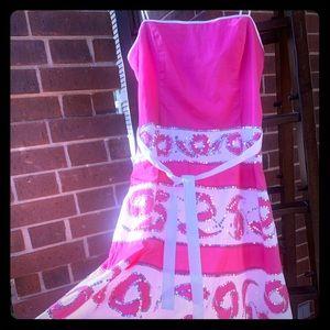 BCBG pink dress with sequins